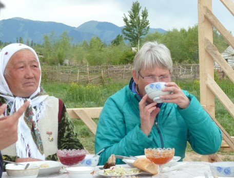 A Tea Break in Kyrgyzstan